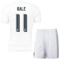 Jersey Sepakbola Real Madrid No 11 Bale Size L White