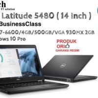 DELL Latitude 5480 ( 14 Inch ) Core i7-6600U + Win10Pro