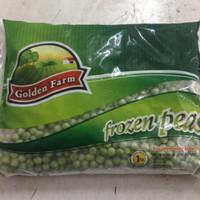 Kacang Polong Golden Farm Frozen Green Peas 1 Kg Kacang Polong Beku