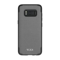 TUMI Samsung S8 Coated Canvas Co-Mold Case - Grey