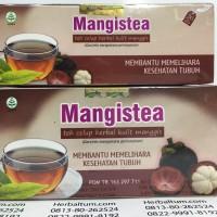 Teh Kulit Manggis Mangistea isi 20 - IZIN BPOM RESMI