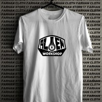 tshirt /kaos baju murah skateboard alien workshop
