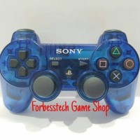 Stick Stik Sony PS3 Original Mesin Refurbished - Biru Transparan