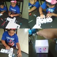 Carbon Conductive Paint+ Paket Edukasi merangkai rumah sensor cahaya