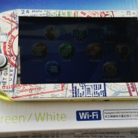 (Sale) PS Vita Slim Lime Green + Garskin kereeen dijamin mantapp