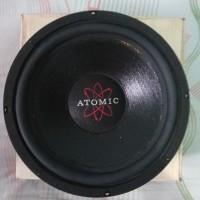 subwoofer mobil Atomic Speaker 30 Oz Made In USA