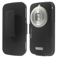 Best Casing HP Samsung Galaxy K Zoom Impact Armor Hybrid Kickstand Co