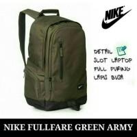 Tas laptop ransel sekolah pria / wanita / remaja Nike Murah kantong