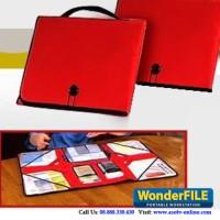 OBRALL ASOTV Handy Organizer Tempat Simpan Berkas - WonderFile