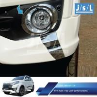 New Toyota Rush Fog Lamp Cover Chrome   Aksesoris Eksterior Rush