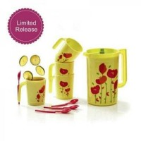 Flower Drink Set/ Flower Pitcher Flower Mug Tupperware
