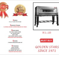 Oven Gas Golden Star Tipe  Sp1-120