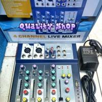profesional mixing console crimson 4 channel F4 usb eff Murah