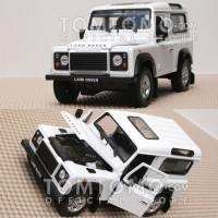 Diecast Land Rover Defender '90 Miniatur Mobil Mainan Jeep Jip Mobilan