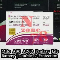 BATERAI MITO A80 FANTASY LITE BA-00098 DOUBLE POWER PROTECTION