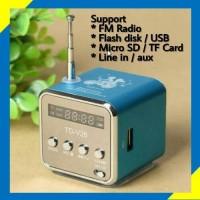 Mini Digital Speaker TD-V26 USB FM Radio SD TF Card MP3