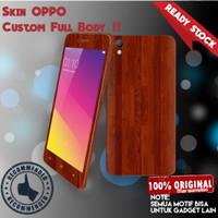 Garskin/skin Original Oppo a37 a37f neo9 - kayu keren