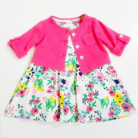 Skirt Romper and Cardigan Set Sunny Flower - Carter's