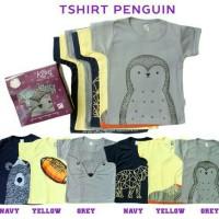 "Kazel T-Shirt Penguin Edition ""boy"" 1 box isi 6pcs"