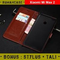 Xiaomi MI MAX 2 - Flip Cover Wallet Case Casing Dompet hp kulit ori