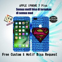 Garskin HP Apple Iphone 7 Plus motif Superman - motif bisa reques