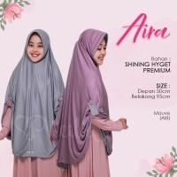 Jilbab Instan 2 Warna Bolak Balik AI8 Mauve