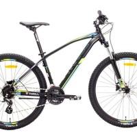 Harga sepeda gunung mtb 27 5 thrill vanquish 3 0 alloy new 2018 satin black | Pembandingharga.com