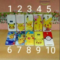 softcase modifikasi advan s5e 4gs silikon pelindung hp pokemon edition