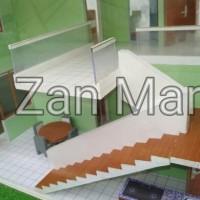 Maket Perumahan Minimalis 2 Lantai Type 75/90
