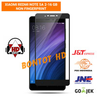 Xiaomi Redmi Note5A NOTE 5A 2-16 GB Tempered Glass Color Full Layar HP