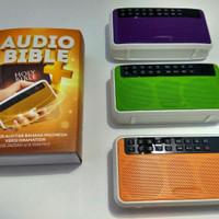 bluetooth audio bible, alkitab suara, spiker alkitab