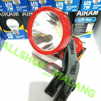 Headlamp / Senter kepala Luby LED 3watt L-189K