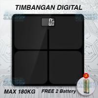 Harga timbangan kaca digital elektronik 180kg | Pembandingharga.com