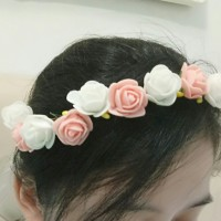 Flower Crown/ Mahkota Bunga/ Bridal Shower/ Wedding/ Flower Girl