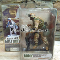 McFarlane Military Second Tour Of Duty Army Desert Infantry Grenadier