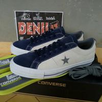 ORIGINAL 100% Sepatu Converse One Star Pro Ox Leather 155525C