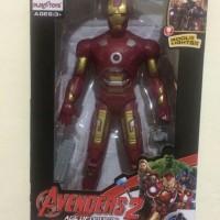 Mainan Anak Figure Tokoh Marvel Avangers Iron Man LSB