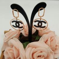 Anting Chanel premium brand rings fashioned