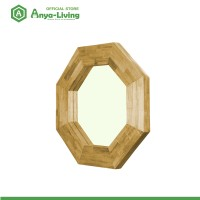 Anya-Living Kaca Cermin - Gantung Hexagonal