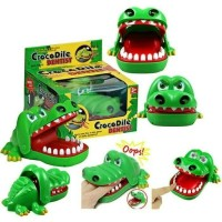 Harga mainan anak crocodile dentist game mainan gigi buaya gigit | antitipu.com