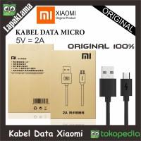 Jual KABEL DATA CHARGERAN XIAOMI ORIGINAL 100% MICRO KABEL USB CABLE DATA Murah