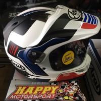 Helm Arai Tourcross 3 vision red original Japan non SNI  size M L XL