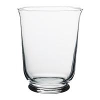 IKEA POMP Vase/Lantern / Vas/Lentera/Tempat Lilin Kaca T=18 D=14 cm