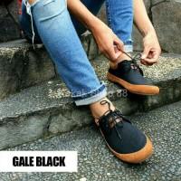 Sepatu Sepatu Sneakers Casual Pria Joey Gale Black Original Branded Pr
