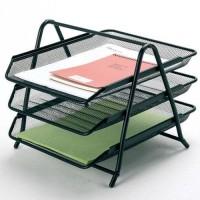 Rak Meja Kantor Tray 3 Susun untuk Surat dan Dokumen
