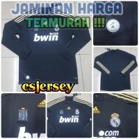 Jersey Retro Real Madrid Third LS 2009 / 2010 Baju Bola Lengan Panjang