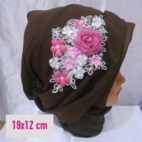 Wedding Hairpiece pengantin Headpiece wisuda Hiasan hijab aksesoris