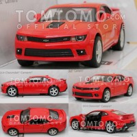 Diecast Chevrolet Camaro (Merah) Mobil Mobilan Mainan Kinsmart
