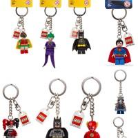 Lego Keychain Robin Batman Superman Joker Flash Rocket Harley Quinn