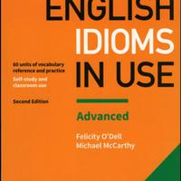 Buku Cambridge English Idioms in Use Advance 3rd Edition